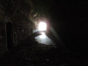 darkness tunnel